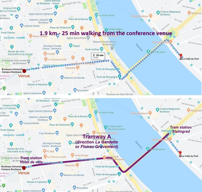 Map cafe du port1